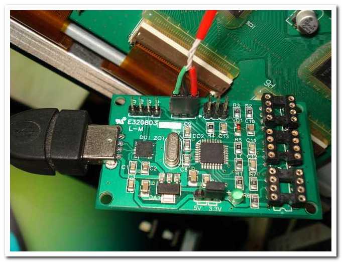 Ремонт плазмы LG 32PC51-ZB, прошивка