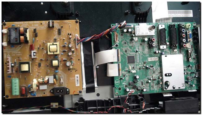 ремонт телевизоров Philips 02PFL3605